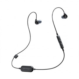NEW Shure SE112-BT1 Wireless Sound Isolating™ IEM - BLACK