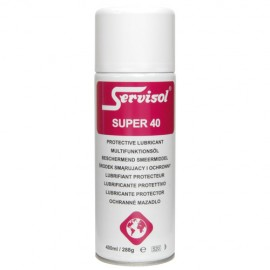 Servisol Super 40 Moisture Repellent and Protective Lubricant 400ml