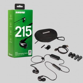 Shure SE215 Sound Isolating™ Bluetooth Earphones with Remote & Mic - Black