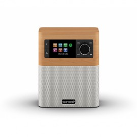 Sonoro STREAM FM/DAB/DAB+ and Wi-Fi Receiver with Bluetooth - Maple/White