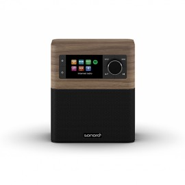 Sonoro STREAM FM/DAB/DAB+ and Wi-Fi Receiver with Bluetooth - Walnut/Black