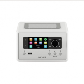 Sonoro RELAX Stereo with Bluetooth CD/USB/FM/DAB+ - White