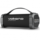 Volkano Bazooka Squared Speaker with Bluetooth, Aux In, SD Slot and FM Radio