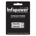 Infapower T004 2 x AAA 1.2v 700mAh Cordless Telephone Batteries