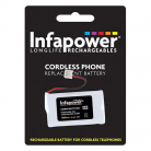 Infapower T007 2 x AA 2.4v 1300mAh Cordless Telephone Battery
