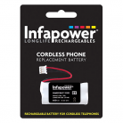 Infapower T008 2 x AAA 2.4v 600mA Cordless Telephone Battery