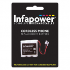 Infapower T009 3 x 2/3 AAA 3.6v 350mAh Cordless Telephone Battery