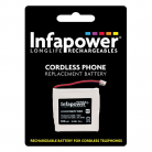 Infapower T010 2 x Prismatic 2.4v 600mAh Cordless Telephone Battery