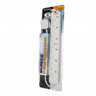 Tacima TC602-BP 6-Way Surge Protected Extension Socket - 2m