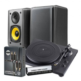 TEAC TN-100 & Edifier R1010BT BUNDLE (Black)