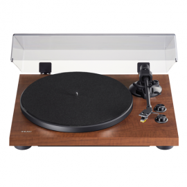 TEAC TN-280BT 2-speed Analog Turntable with Phono EQ and Bluetooth - Walnut