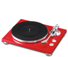 TEAC TN-300 2 Speed Analog Turntable (Red)