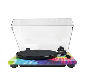 TEAC TN-420 2-Speed Analog Turntable in Tie-Dye Finish