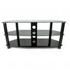 TTAP TTAPVA1050 Vantage TV Stand - Black (Castors Available)