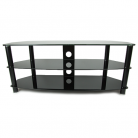 TTAP TTAPVA1200 Vantage TV Stand - Black (Castors Available)