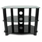 TTAP TTAPVA600 Vantage TV Stand - Black (Castors Available)