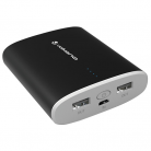 Volkano VE806 Massive Erupt  10,000mAh Power Bank - Black