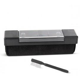 Vinyl Kleen Velvet Pad Record Cleaner with Stylus Brush