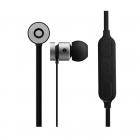 Volkano VK1006 Mercury Series Magnetic Bluetooth Wireless Earphones - Silver & Black