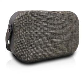 Volkano VK3020 Fabric Series Bluetooth Speaker with Fabric Trim - Dark Grey