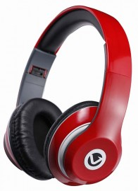 Volkano Falcon Folding Headphones with Mic - Red