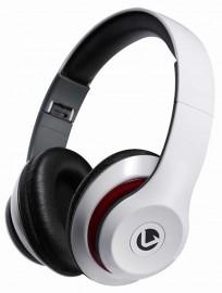 Volkano Falcon Folding Headphones with Mic - White