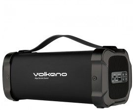 Volkano Mega Bazooka Squared BT Speaker with Aux In, USB & SD and FM Radio