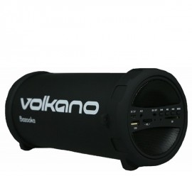 Volkano Bazooka Speaker with Bluetooth, Aux In, USB & SD Slot and FM Radio