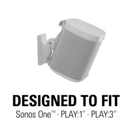 Sanus Speaker Wall Mounts for Sonos ONE, Play:1 & Play:3