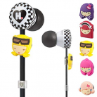 Monster Cable Harajuku Lovers Wicked Style In-Ear Headphones