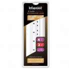 Infapower 4 Gang Extension Lead (2m - 5m lengths available)