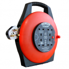 Infapower 4 Gang 13 Amp Extension Reel (10m - 50m lengths available)