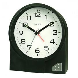 acctim Leon Alarm Clock - Black
