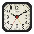 acctim Maldon Mini Alarm Clock - Black