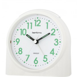 acctim Sweeper One Alarm Clock - White