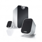 (((AE))) Acoustic Energy Aego M Subwoofer & Satellite System - White