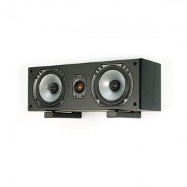 B-Tech BT15/B Centre Speaker Wall Mount with Adjustable Arms, Black