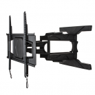 B-Tech BT8225B Ultra-Slim Flat Screen Wall Mount with Cantilever Arms - Black