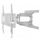 B-Tech BT8225W Ultra-Slim Flat Screen Wall Mount with Cantilever Arms - White