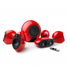 EDIFIER e255 5.1 surround sound system - Red