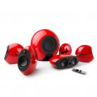 EDIFIER Luna E255 5.1 surround sound system - Red