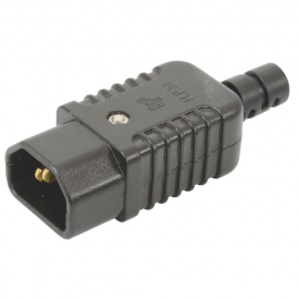 Mercury Heavy Duty In-line IEC Plug C14