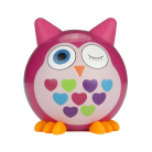 Kitsound KSBMBPOW My Doodles Buddy Bluetooth Wireless Pink Owl Speaker