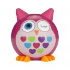 Kitsound KSBMBPOW My Doodles Buddy Bluetooth Wireless Pink Owl Speaker