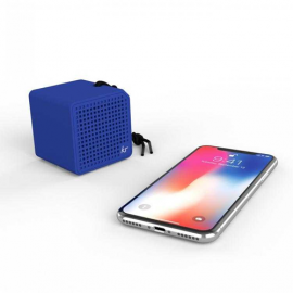 KitSound Boxi Mini Bluetooth Speaker - Blue