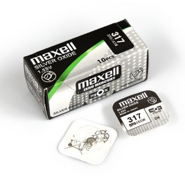 Maxell MAX317 Silver Oxide Battery