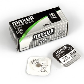Maxell MAX337 Silver Oxide Battery