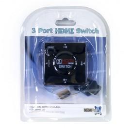 Newlink NLHDMI-SW3 3 Port HDMI Auto Switch