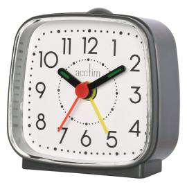acctim Norton Alarm Clock - Grey