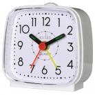 acctim Norton Alarm Clock - White